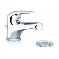 Washbasin standing tap Suzan with waste