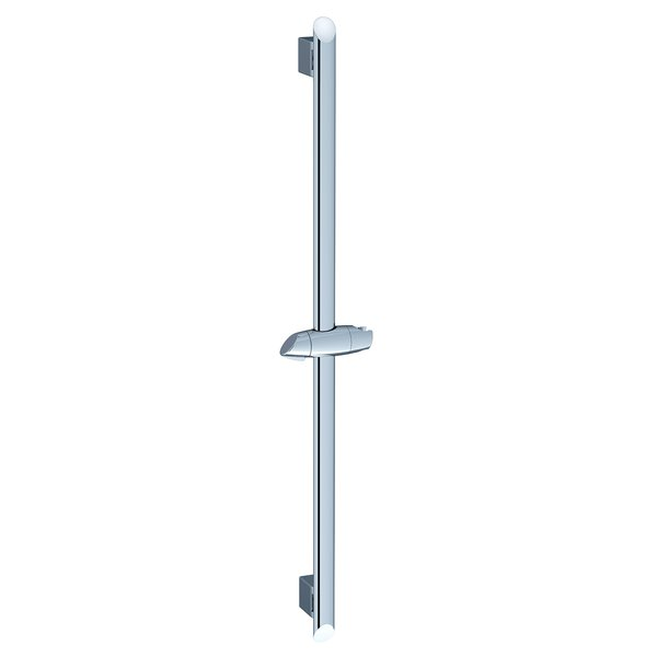 Bar with sliding shower holder 90 cm