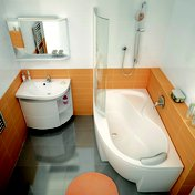 Cabinet under washbasin SDU Rosa Comfort white/white within the Rosa Concept