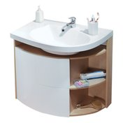 Cabinet under washbasin SDU Rosa Comfort birch/white (left-sided variant)
